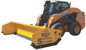 sectional sno pusher arctic sectional sno pusher landscape management