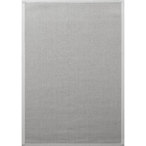 white sisal rug sisal twill weave white 4 ft x 6 ft indoor accent rug a1nfr006 a the home depot