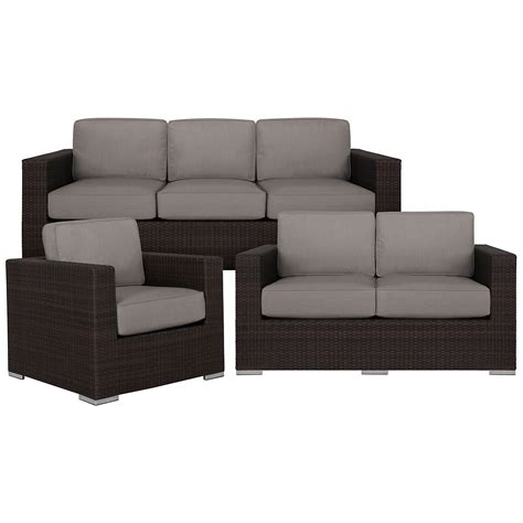 outdoor living room set city furniture fina gray outdoor living room set