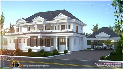 Luxury Home Plans With Photos by Modern Super Luxury Home Design Indian House Plans
