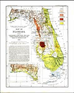 geological map of florida geological map of florida 1913