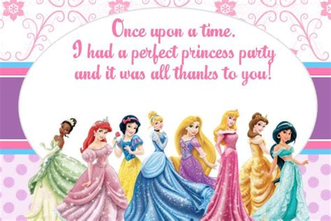disney princess invitation card template free disney birthday invitation template