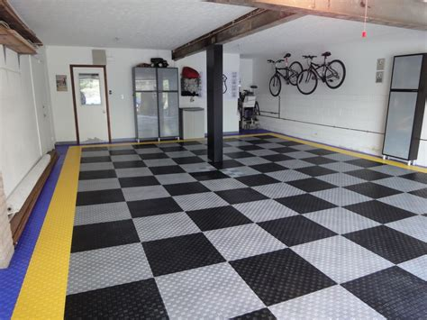cool garage floors cool garage floor tile garage floor tile style