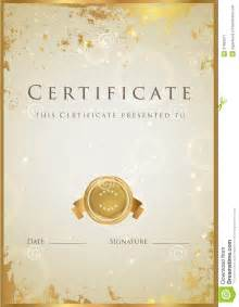 prize certificate template free best photos of gold certificate templates gold award