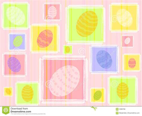 easter pattern background colourful easter eggs pattern background stock