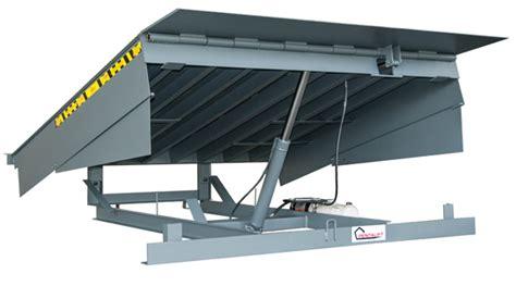 loading dock section hc series hydraulic dock leveler loading dock equipment
