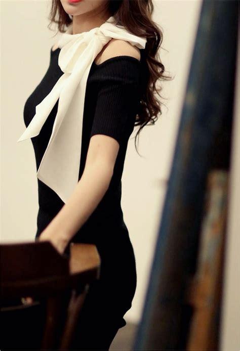 Dress Wanita 809 dress korea pita panjang bahu bolong model terbaru