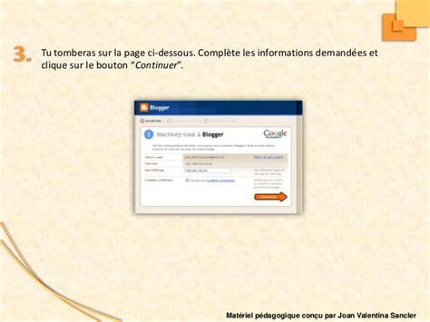 blogger comment tutorial comment cr 233 er un blog avec blogger tutorial pour 233 tudiants