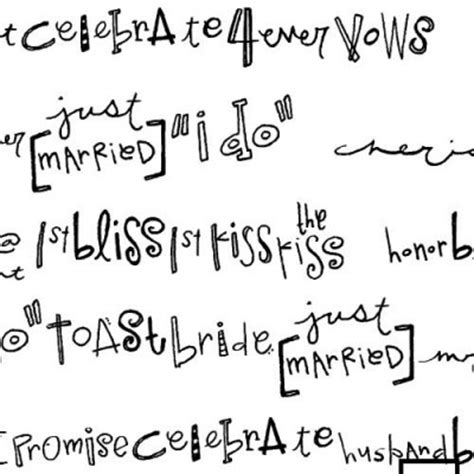 doodle words db wedding doodle words db