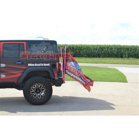 jeep flag flag holder wrangler jk