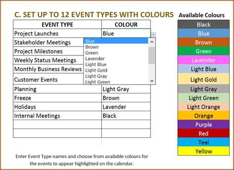 event calendar templates images event calendar