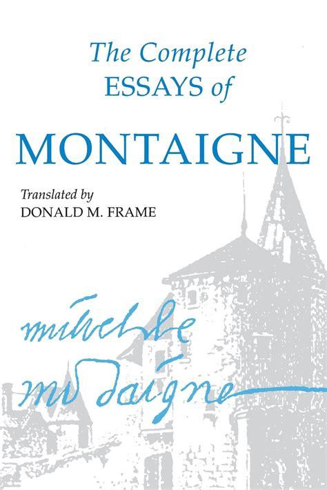 best translator best translation of montaigne essays