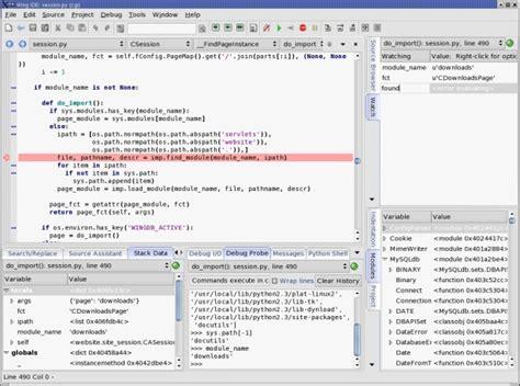 best ide for python comparison of python ides for development python central