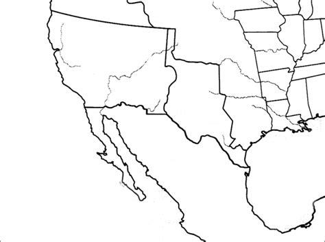 us westward expansion blank map westward expansion best of history web