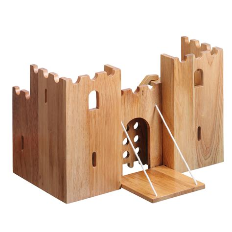 made by woodworking buy small world wooden castle tts