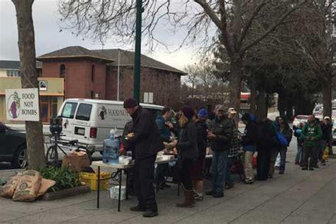 anti homeless group tries to drive santa cruz food not