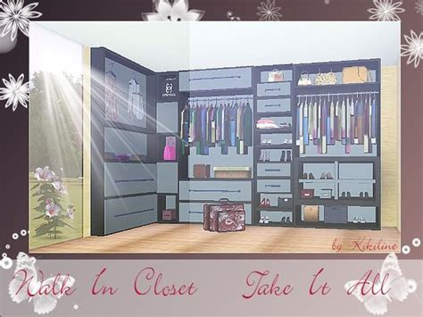 Sims 3 Closet by Walk In Closet Window And Sims 3 On