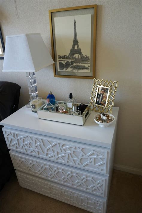 Malm Dresser Ideas by Add Instant Glam To Your Ikea Furniture Using Overlays Ikea Malm Dresser Ikea Malm And Malm