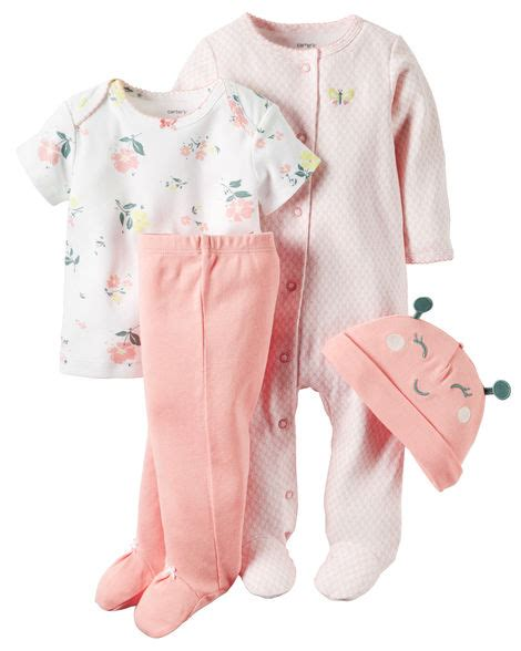 4 babysoft take me home set carters