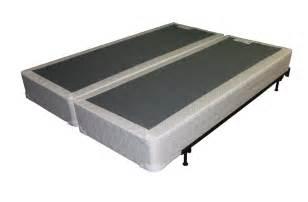 Metal bed frame 14 high bi fold platform bed base and box spring 2