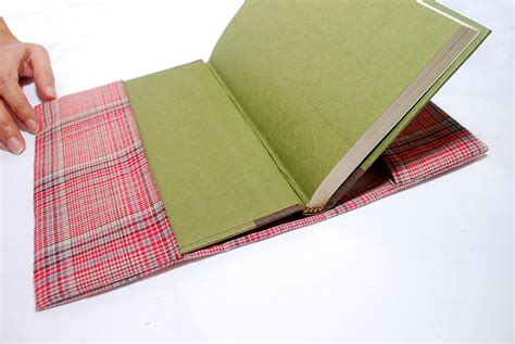 upholstery book how to sew a fabric book cover 9 steps with pictures