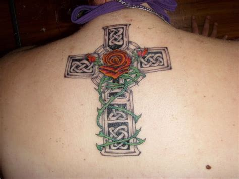 celtic cross rose tattoo 20 best celtic cross tattoos designs 2018 sheideas