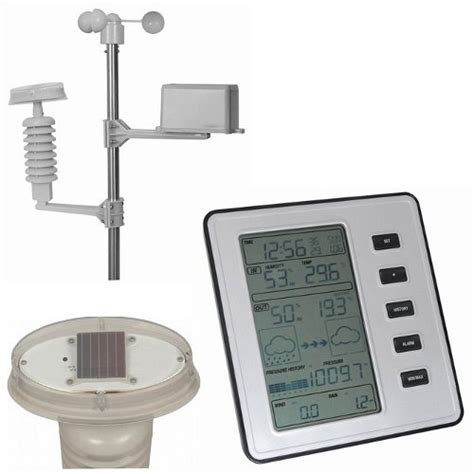 wireless weather station with and forecasting