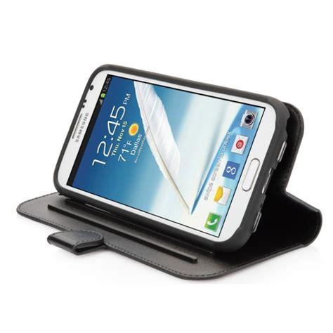 Capdase Samsung Galaxy Note 2 housse support folder capdase cuir noir pour samsung