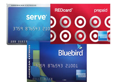 Target Amex Gift Card - bluebird serve redcard comparison of the 3 cards