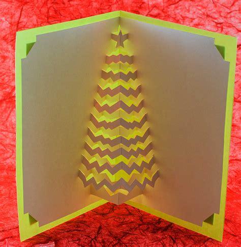 Ingrid Siliakus christmas tree popup card popup card shop