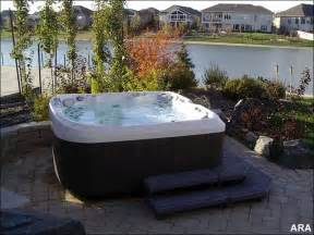 backyard landscaping changes blah to aha with tubs