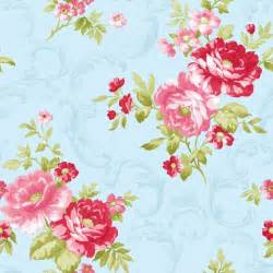 shabby chic wallpaper shabby chic vintage floral wallpaper blue pink