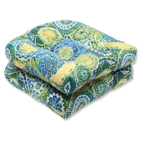 outdoor seat cushion fabric wicker seat cushion chair pad polyester fabric patio