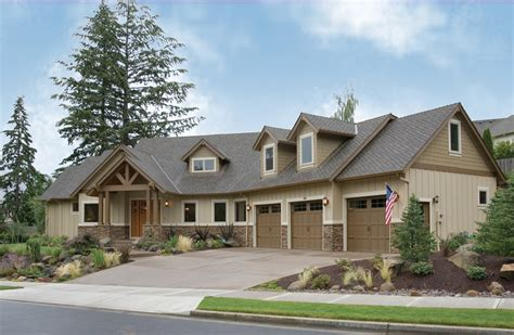 large modern craftsman home plans modern house plan