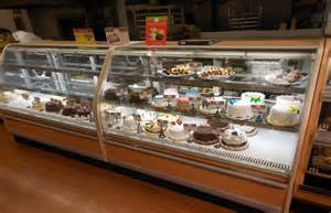 Used Bakery Display Cabinet Refrigerated Food Cases Bakery Cases Cold Food