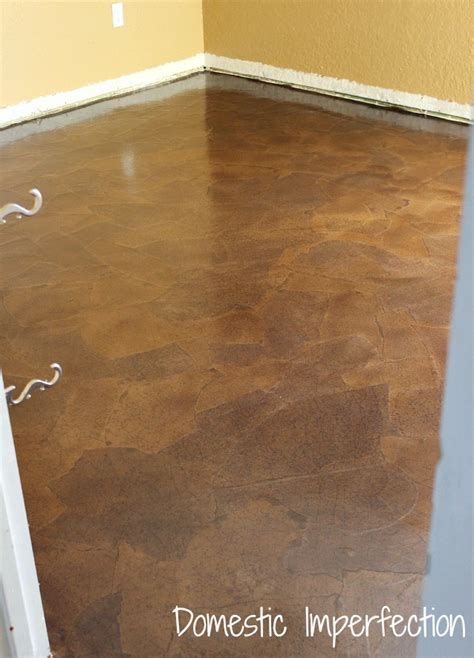 Brown Paper Bag Floor by Interesting Idea Paper Bag Flooring Construction And