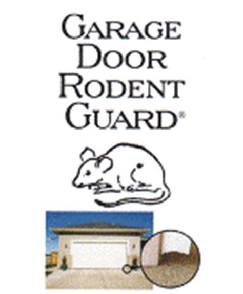 Garage Door Rodent Guard Rodent Exclusion One Way Door Products Wildlife