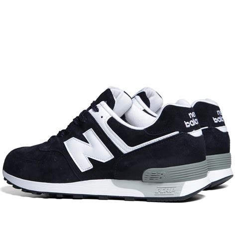 mens new balance sneakers fashion new balance m576dnw suede uk navy white mens shoes