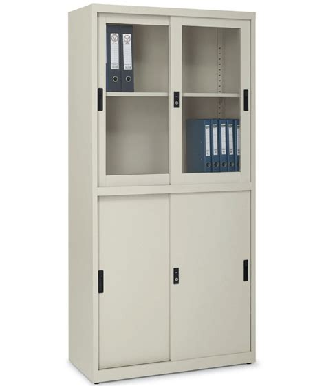 metal cabinet with doors office cabinets with glass doors image yvotube com