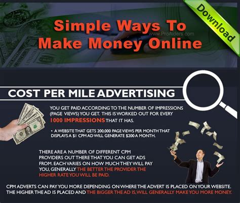 How To Make Money Online Advertising - 30 best how to make money online images on pinterest how to make money way to make