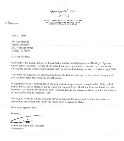 Letter From Employer To Embassy Letter Of Recommendation