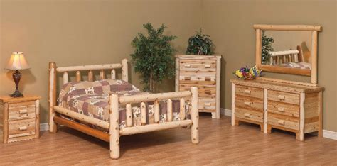 White Cedar Bedroom Furniture by White Cedar Log Furniture White Cedar Chests Beds And