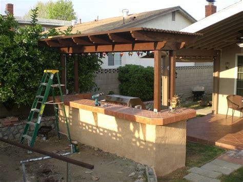 diy backyard bbq outdoor furniture design and ideas
