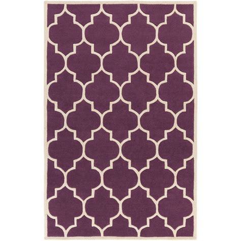 Eggplant Area Rug Artistic Weavers Transit Piper Eggplant 3 Ft X 5 Ft Indoor Area Rug Awhe2016 35 The Home Depot