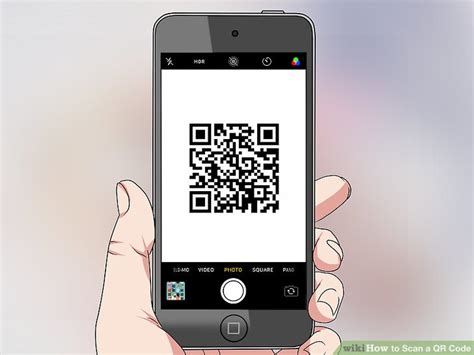 iphone qr code 2 clear and easy ways to scan a qr code wikihow