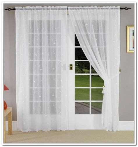 voile curtains for french doors 17 best images about sheers and shades on pinterest window treatments voile curtains and