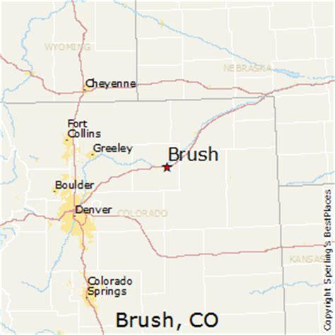 map of brush colorado map of brush colorado my