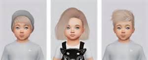 sims 4 hairs kalewa toddler hair pack