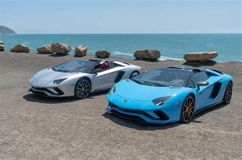 first images of aventador sv roadster released drive safe and fast 2018 lamborghini aventador s roadster first drive one of a kind motor trend