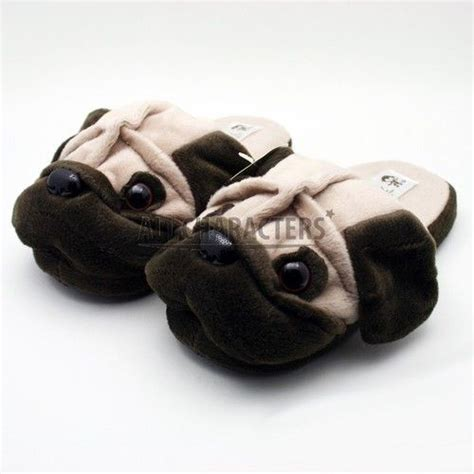 pug slippers pug slippers i ve got a thing for pugs